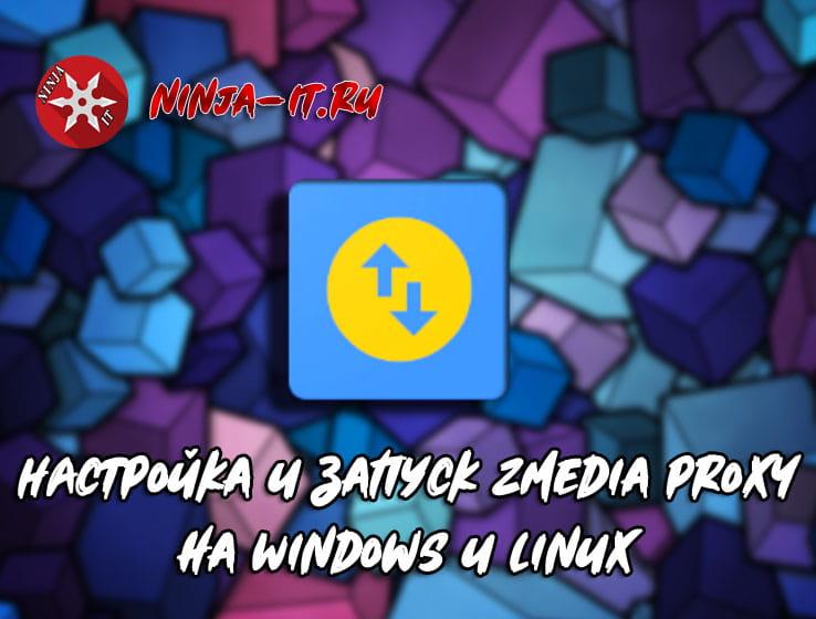 настройка и запуск ZMedia Proxy на Windows и Linux